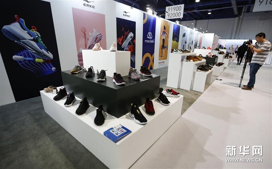 (新华视界)(4)国际鞋展中国品牌推广活动在拉斯维加斯举行