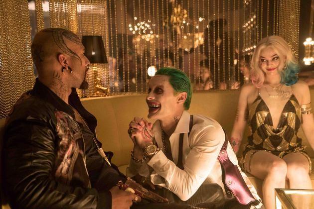 """杰瑞德·萊托在《自殺小隊》飾演""""小丑""""。"""