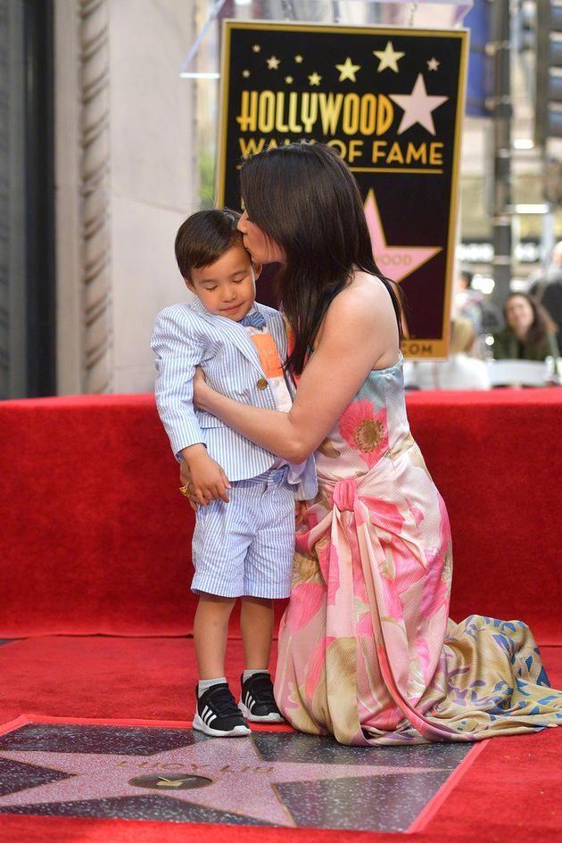 刘玉玲与儿子