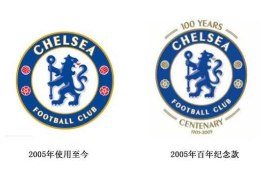 切爾西隊標 一脈相承的是那永不褪色的藍