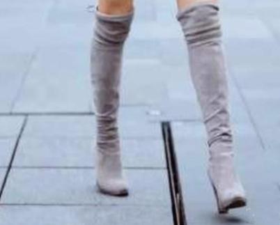 不想穿高跟鞋,春天穿什么鞋子显气质?长筒靴受青睐