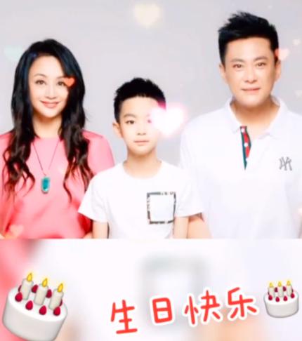 有爱!曹颖为老公王斑庆祝生日 分享三口合照送温暖祝福