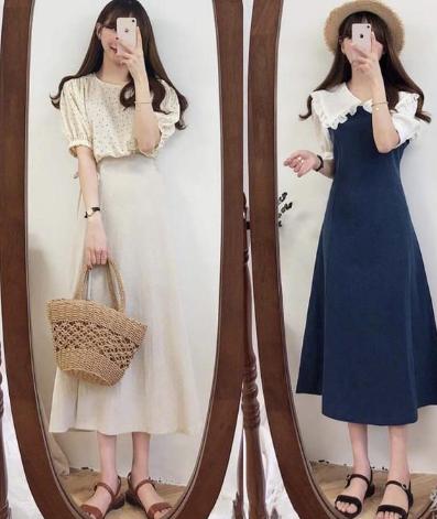 16套法式裙装穿衣打扮样版提升整体气质 快收藏吧!