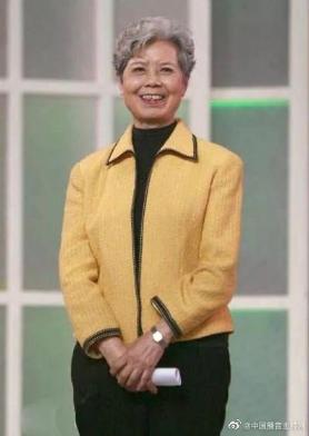 中国第一位电视播音员沈力逝世 25岁步入电视荧屏