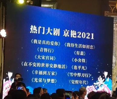 北京卫视剧集片单曝光 《有翡》《青簪行》《小舍得》将上星