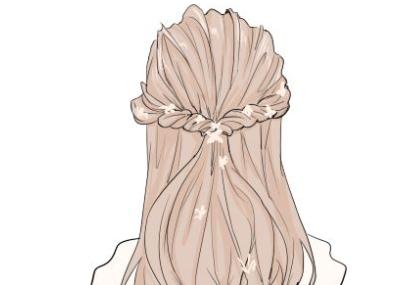 几款简单易学的编发美过任何披发 你学会了吗?