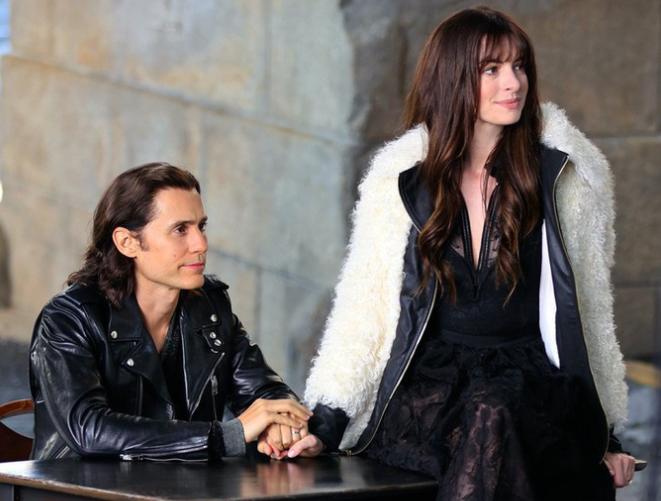 莱托少爷与海瑟薇《WeCrashed》纽约拍摄中 气氛超甜蜜